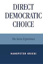 Direct Democratic Choice