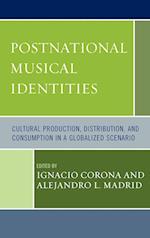 Postnational Musical Identities af Alejandro L Madrid, Arved Ashby, Vanessa Knights
