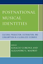 Postnational Musical Identities af Alejandro L Madrid, Arved Ashby, Cristina Magaldi