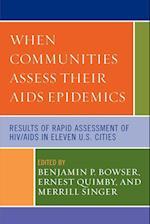 When Communities Assess their AIDS Epidemics