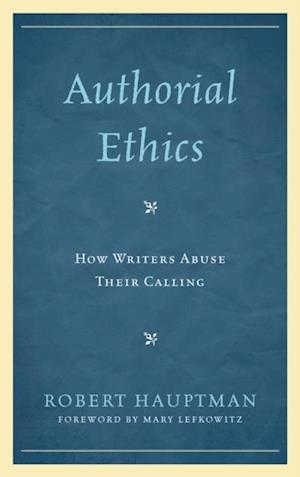 Authorial Ethics