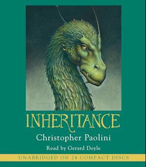 Lydbog CD Inheritance af Christopher Paolini Gerard Doyle