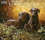 Love of Dogs 2018 Wall Calendar