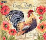 Proud Rooster 2018 Wall Calendar