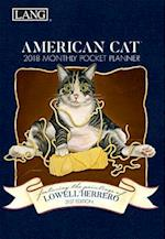 American Cat[[ 2018 Monthly Pocket Planner
