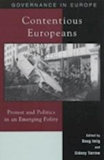 Contentious Europeans (Governance in Europe Hardcover)
