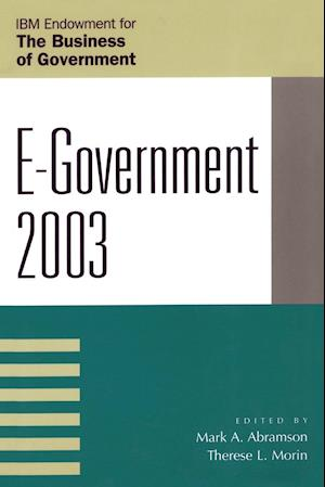 E GOVERNMENT 2003 PB