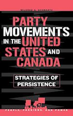 Party Movements in the United States and Canada af Schwartz