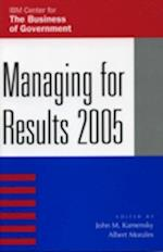 Managing for Results (IBM Center for the Business of Government)