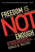 Freedom is Not Enough (American Political Challenges)