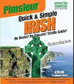 Pimsleur Quick and Simple Irish (Quick & Simple Basic Programs)