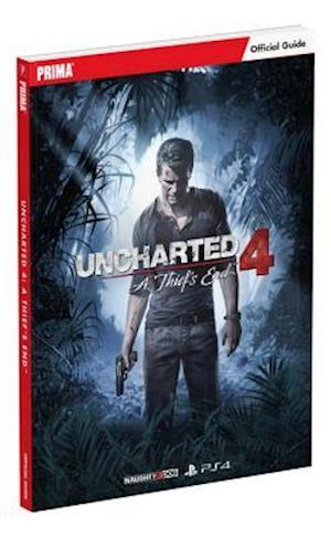 Bog paperback Uncharted 4: A Thief's End Standard Edition Strategy Guide af Prima Games