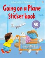 Usborne First Experiences Going on a Plane Sticker Book (First Experiences)
