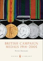 British Campaign Medals 1914-2005 (Shire Library)