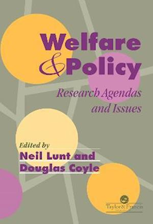 Welfare and Policy: Research Agendas and Issues
