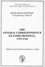The General Correspondence of James Boswell, 1757-1763 af James J Caudle, David Hankins, james Boswell