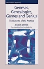 Geneses, Genealogies, Genres and Genius
