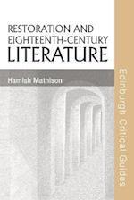 Restoration and Eighteenth-Century Literature (Edinburgh Critical Guides to Literature)
