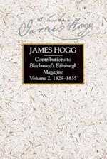 Contributions to Blackwood's Edinburgh Magazine (Collected Works of James Hogg)