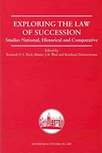 Exploring the Law of Succession (Edinburgh Studies in Law)