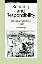 Reading and Responsibility (Frontiers of Theory)
