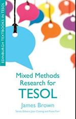 Mixed Methods Research for TESOL