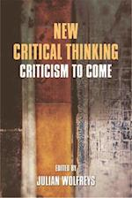 New Critical Thinking