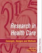 Research in Health Care af Chris Wright, Julius Sim