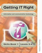 Getting IT Right - ICT Skills Students' Book 1 (Levels 3-4) af Alison Page