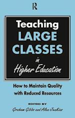 Teaching Large Classes in Higher Education