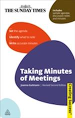 Taking Minutes of Meetings (Creating Success)