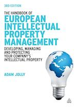 Handbook of European Intellectual Property Management af Jolly