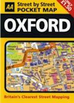 AA Street by Street Pocket Map Oxford (Aa Street by Street)