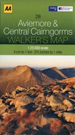 Aviemore and Central Cairngorms (Walker's Map)