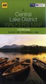 Central Lake District (Walker's Map, nr. 3)