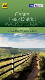 Central Peak District (Walker's Map, nr. 7)