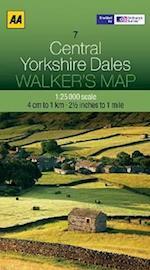 Central Yorkshire Dales (Walker's Map)