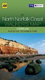 North Norfolk Coast (Walker's Map)