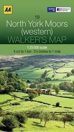 North York Moors  (Western) (Walker's Map)