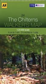 The Chilterns (Walker's Map)