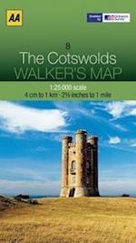 Cotswolds (Walker's Map)