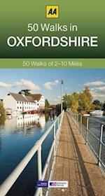 50 Walks in Oxfordshire (AA 50 Walks)