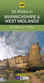 50 Walks in Warwickshire & West Midlands (AA 50 Walks Series)