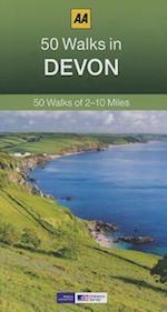 50 Walks in Devon (AA 50 Walks)