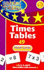 Times Tables Flash Cards (Learning Rewards)