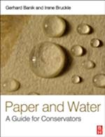 Paper and Water (Routledge Series in Conservation and Museology)