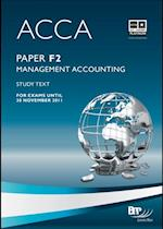 ACCA Paper F2 - Management Accounting Study Text