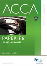 ACCA Paper F6 - Tax FA2009 Study Text