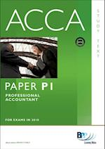ACCA Paper P1 - Professional Accountant Study Text
