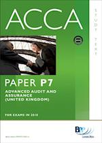 ACCA Paper P7 - Advanced Audit and Assurance (GBR) Study Text
